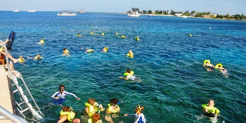 Galveston Cruises 7 Mile Beach Party Boat Amp Snorkel