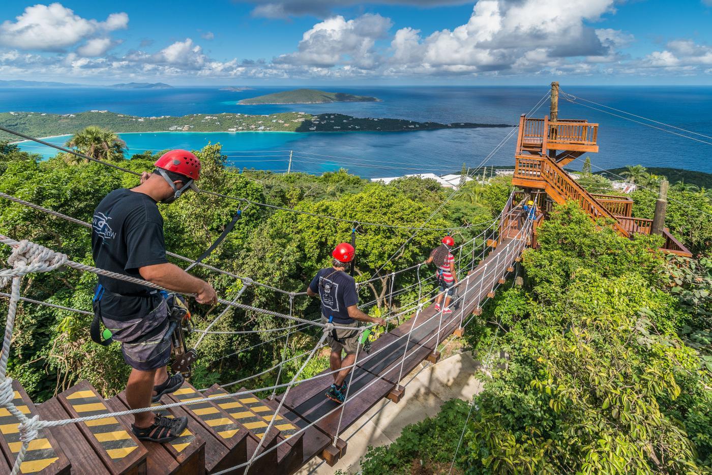Galveston Cruises Tree Limin Extreme Zipline Tour