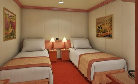 It Has Two Twin Beds That Convert Into A King And Is Roximately 185 To 190 Square Feet