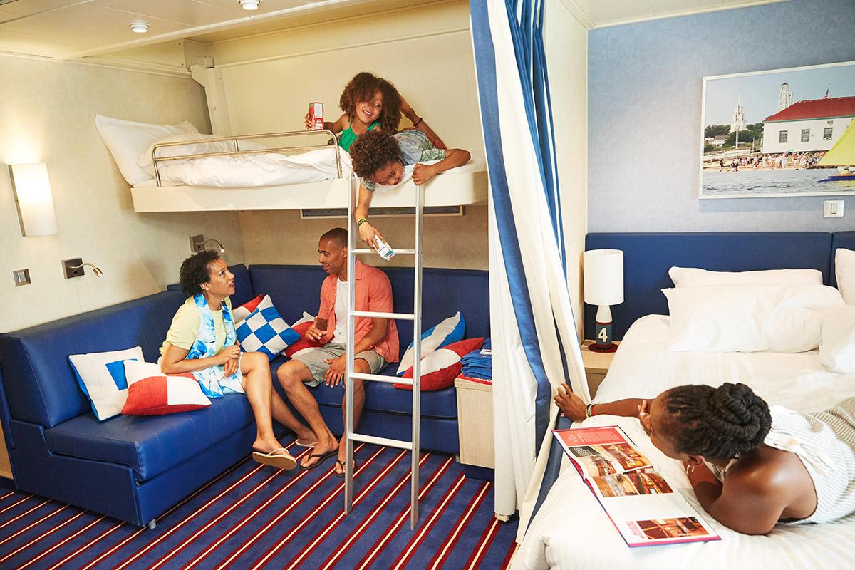 Galveston Cruises Family Harbor Cabins